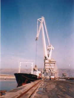 Stevedores company Cooperative Harbour Services Card. Orsini a.r.l. of the port of Manfredonia FG